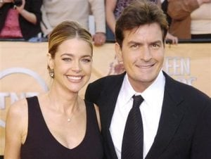 Charlie Sheen, Richards in family court 