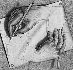 'Drawing Hands'