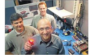 Trio's start-up firm specializes in rugged systems