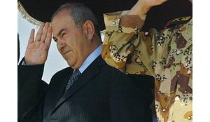 Allawi threatens military action