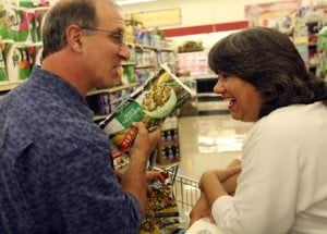 Food shopping with 'America's Cheapest Family'