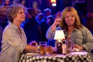 "<p>This image released by Warner Bros. Pictures shows Susan Sarandon, left, and Melissa McCarthy in a scene from ""Tammy.""</p>"