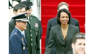 Rice to press S. Korea on N. Korea sanctions