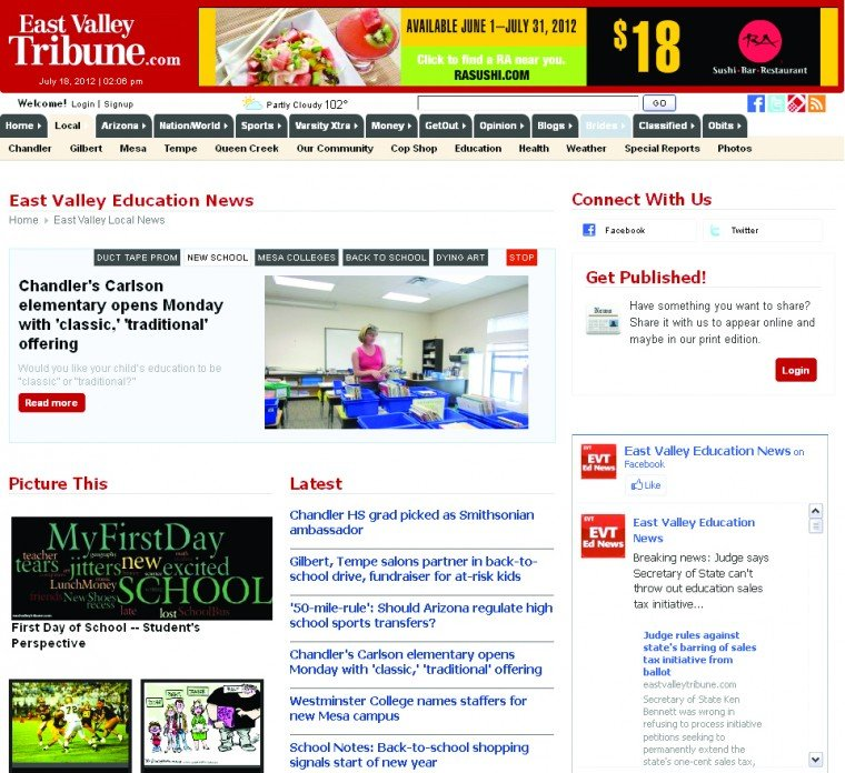 EastValleyTribune.com: East Valley Education News