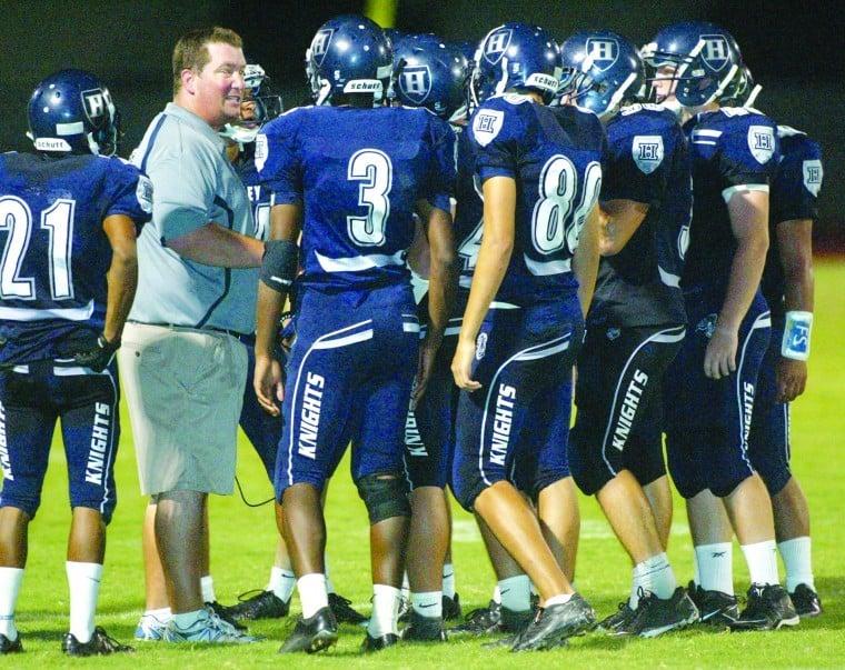 Higley coach Eddy Zubey