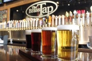<p>The Brass Tap features 60 taps and an additional 250 beers in cans and bottles.</p>