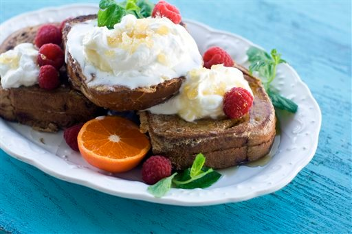 Food-Stuffed French Toast