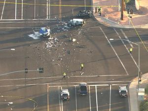 Deadly crash in Mesa