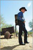 A cowboy and a scholar