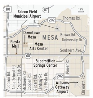 Mesa map