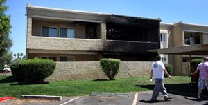 Scottsdale fire kills 2 pets, displaces tenants