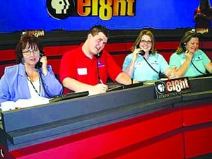 Volunteers for Channel 8 pledge drive