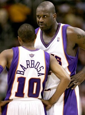 Suns notebook: Barbosa met young Shaq while growing up in Brazil