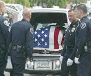 Police funeral draws hundreds from across state