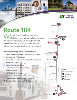 Valley Metro Route 184