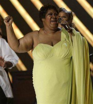 Franklin slams Beyonce Grammy intro