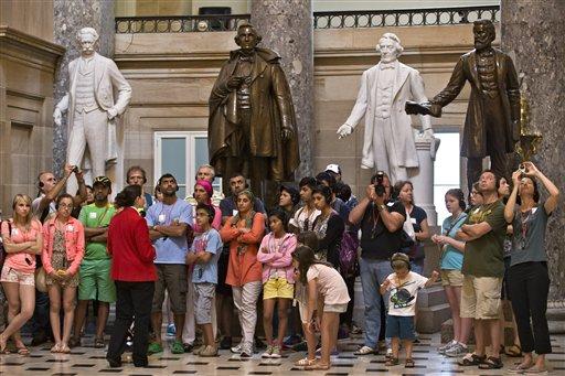 Capitol Statues