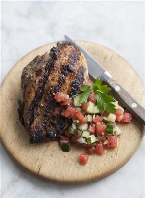 Food Healthy Jerk Chicken