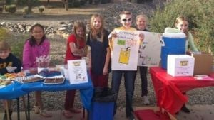 Ahwatukee kids organize lemonade stand for hurricane relief