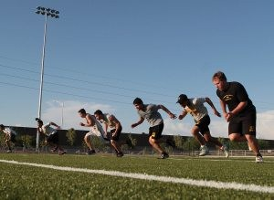 Gilbert Christian opens first football season with high hopes, small numbers