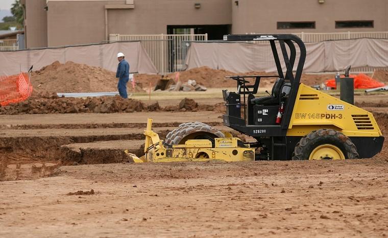 Mesa High School construction