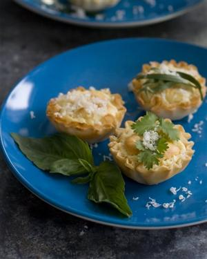 Food Healthy Phyllo Bites