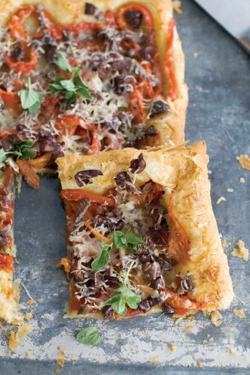 Puff Pastry Pissaladiere