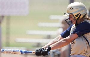 Softball: Highland Vs Desert Vista: during the softball game between Highland and Desert Vista at Highland High School on Saturday, May 3, 2014. - [David Jolkovski/Tribune]