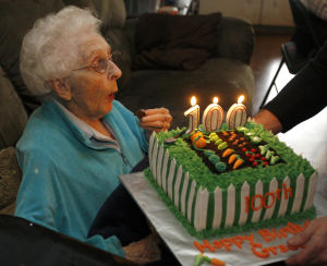 Lydia Grace Lehr, 100th Birthday