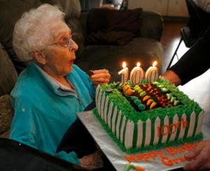 Lydia Grace Lehr, 100th Birthday