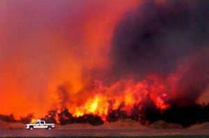 Controlled burn gets out of control in Yuma area