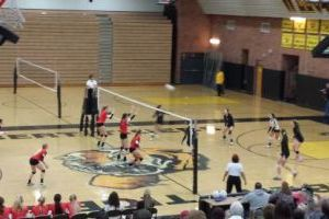 Gilbert vs. Chaparral volleyball
