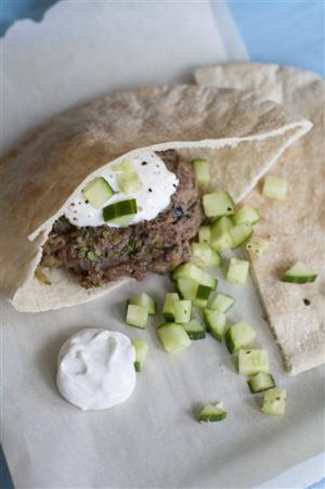 Food Healthy Lamb Burgers