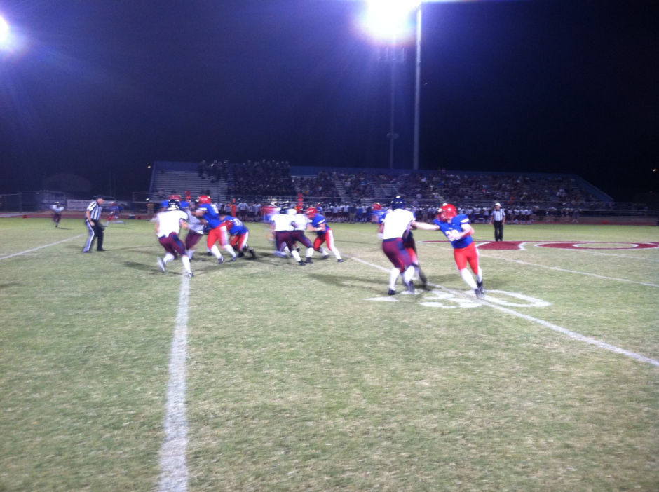 Mountain View vs. Perry football