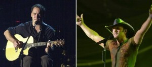 Dave Matthews, Tim McGraw to play at the Cricket Pavilion