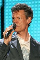 Randy Travis performs at Celebrity Oct. 8
