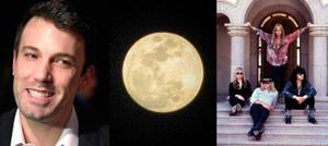 Weekend: Affleck, full moons and hair bands