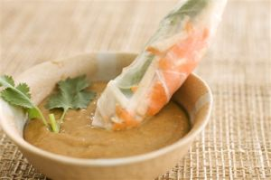Food-Healthy-Summer Rolls