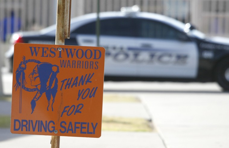 Westwood Students Support Principal