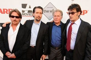Emilio Estevez, Ramon Estevez, Martin Sheen, Charlie Sheen