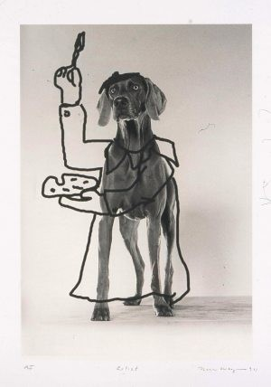 Dog treats: Wegman's artwork comes to SMoCA