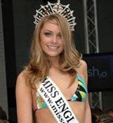 Miss England told to fatten up 