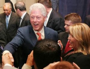 Bill Clinton in the Valley to support Pederson