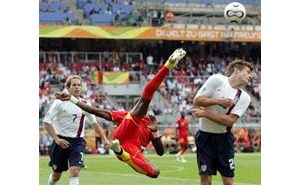 Ghana kicks United States out of World Cup