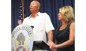 Burned police officer retires in Phoenix