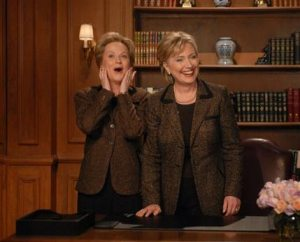 Clinton takes break for 'SNL'