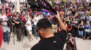 Cardinals' Lutui visits alma mater Mesa