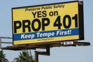 Tempe voters to decide proposed sales tax hike