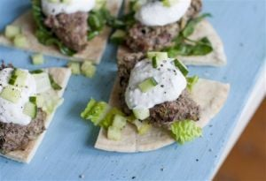 Food Healthy Lamb Burgers