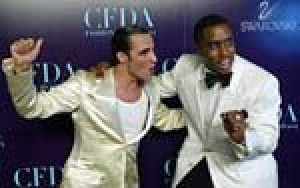 'P. Diddy,' Herrera win fashion awards